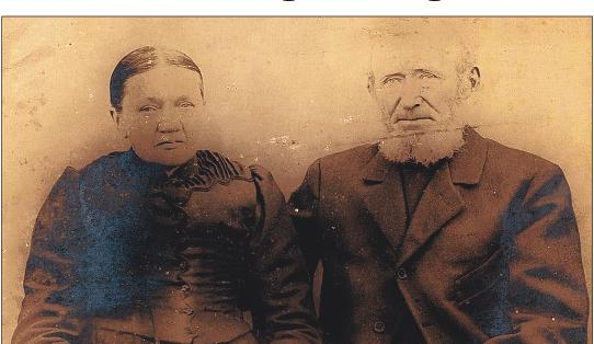The great-great-grandparents of Juergen Groth: Johann Broderius and Margaretha Roeschmann
